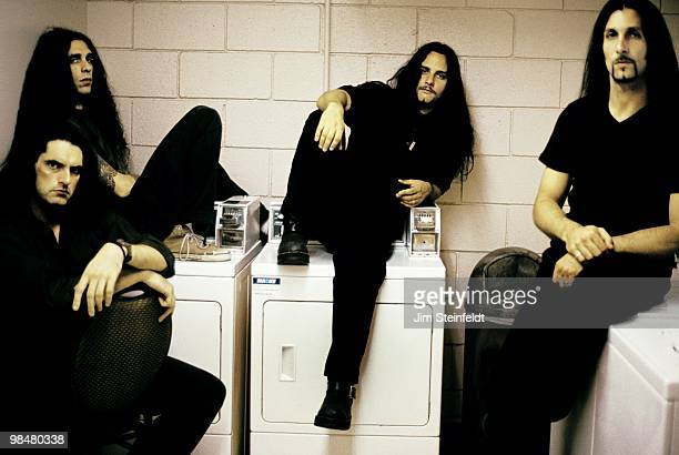 Heavy Metal band Type O Negative Peter Steele Josh Silver Kenny Hickey and Johnny Kelly pose for a portrait in Los Angeles California on July 25 1999