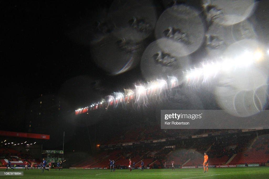 Charlton Athletic v AFC Wimbledon - Sky Bet League One : News Photo