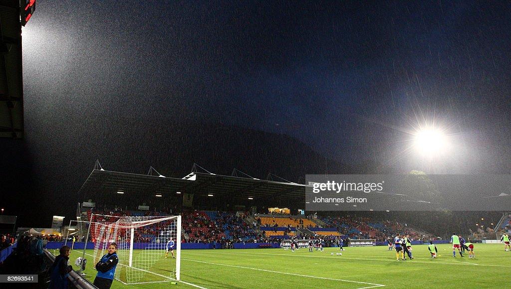 Liechtenstein v Germany - FIFA2010 World Cup Qualifier : News Photo