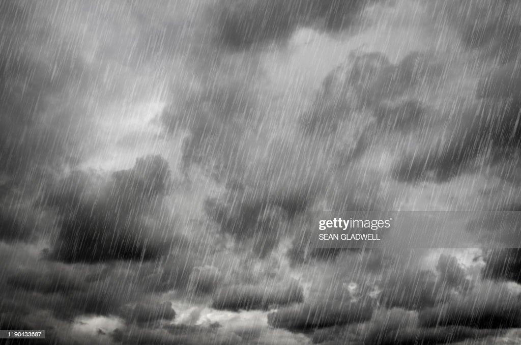 Heavy rain : Foto stock