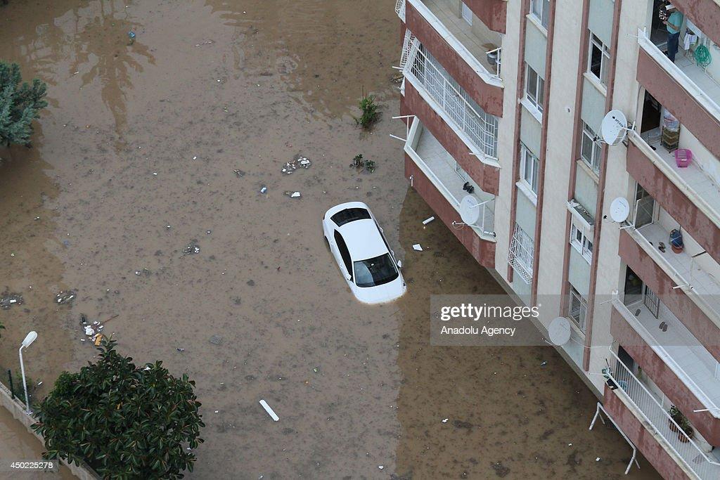 Heavy rainfall hits southern Turkey : News Photo