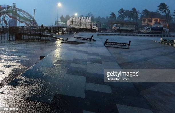 Heavy rains and winds during the Cyclone Ockhi on November 30 2017 at Thiruvananthapuram India Heavy rains and gushing winds hammered the southern...