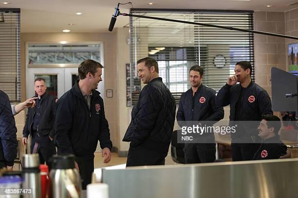FIRE A Heavy Weight Episode 220 Pictured David Eigenberg as Christopher Herrmann Jesse Spencer as Matthew Casey Jeff Hepher as Clarke Taylor Kinney...