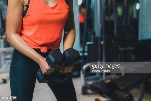 heavy weight exercise - dumbbell stock pictures, royalty-free photos & images