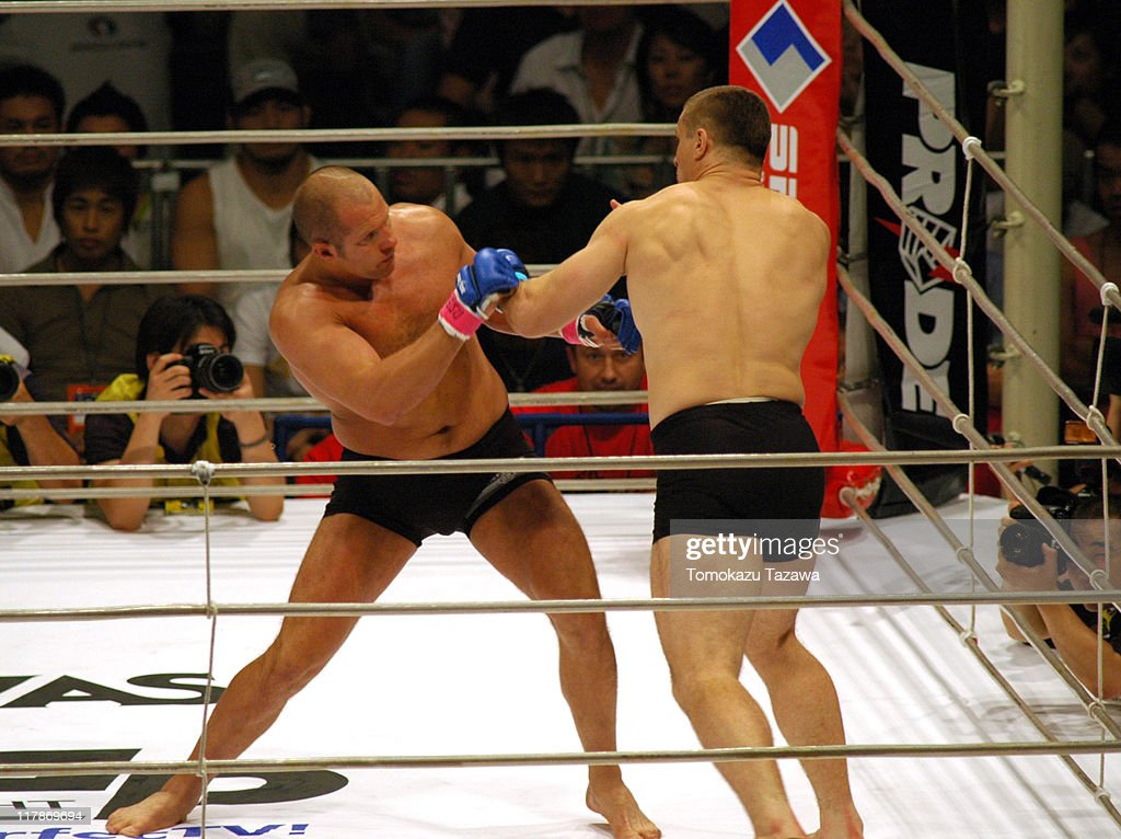 Heavy Weight Title Match, Emelianenko Fedor VS Mirko Crocop