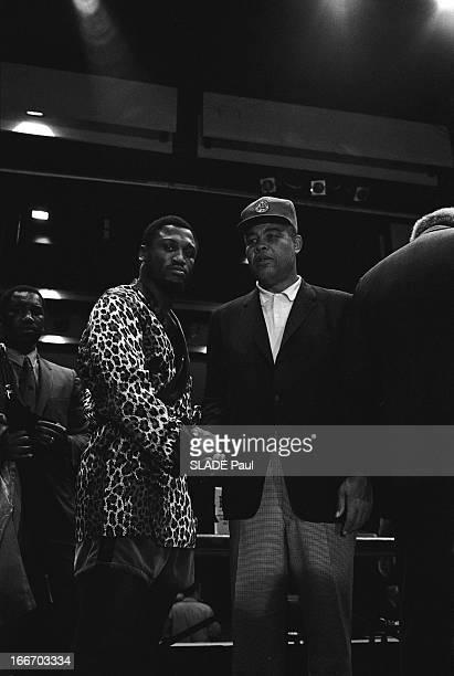 Heavy Weight World Boxing Championship Between Joe Frazier Muhammad Ali At Madison Square Garden In New York The Battle Of The Century Championnat du...