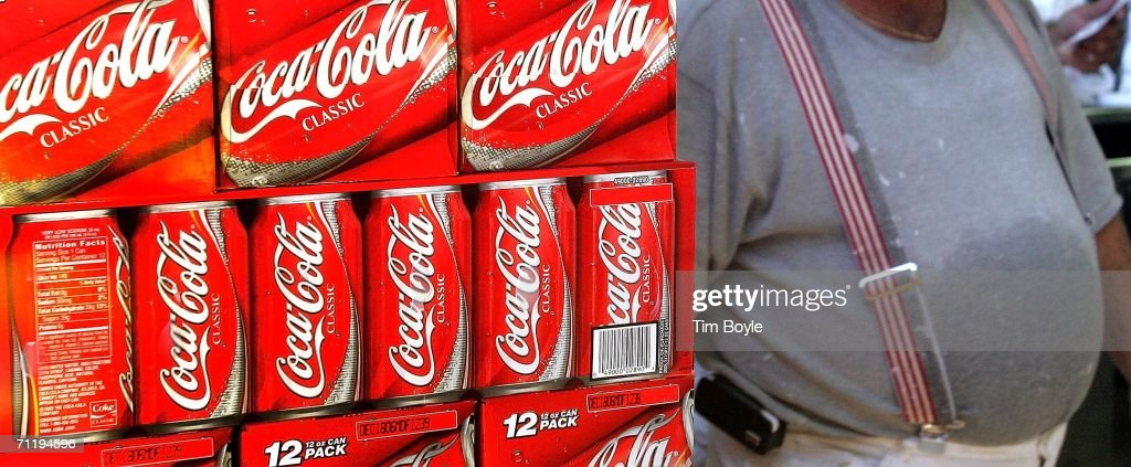 "Doctors To Call For A ""Fat Tax"" On Sugary Soda : News Photo"