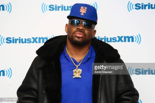 Heavyweight boxer Jarrell Miller visits the SiriusXM Studios on February 22 2019 in New York City