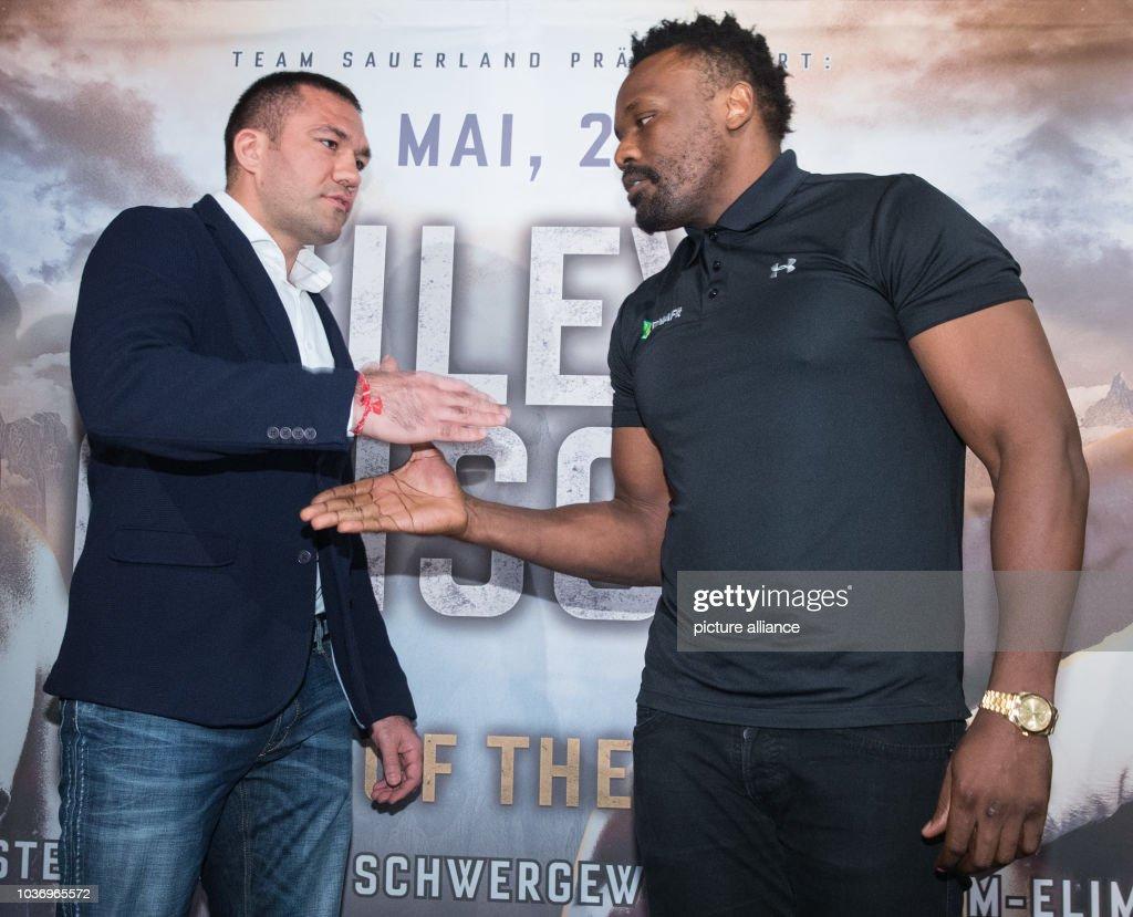 Boxing Chisora Pulev press conferemce : News Photo