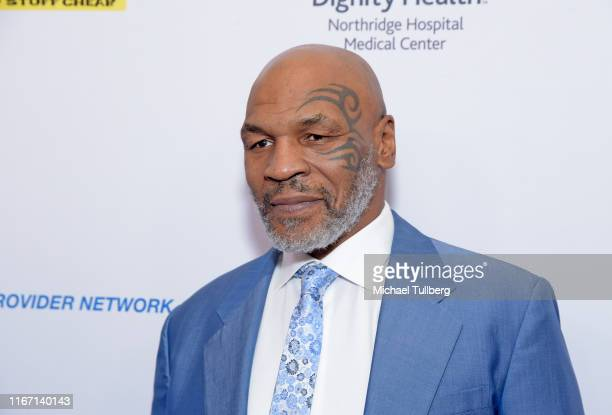 Heavyweight boxing legend Mike Tyson attends the 19th annual Harold and Carole Pump Foundation Gala at The Beverly Hilton Hotel on August 09, 2019 in...