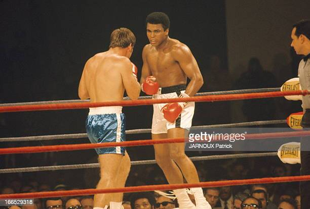 Heavyweight Boxing Match Cassius Clay Jerry Quarry In Atlanta