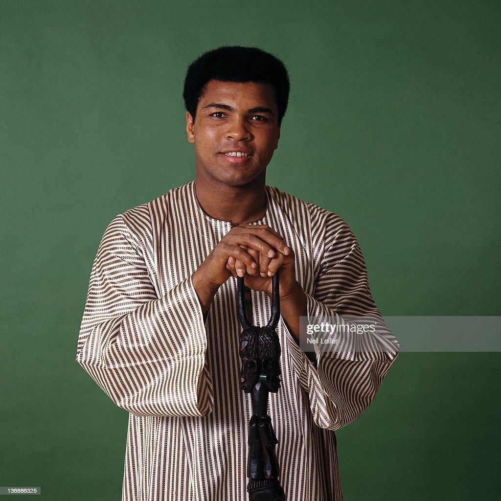 Muhammad Ali, 1974 Sportsman of the Year : News Photo