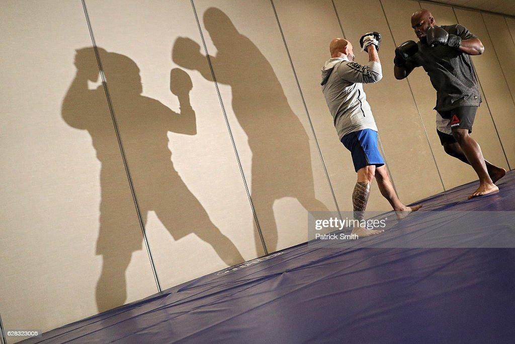 UFC Fight Night: Open Workouts : News Photo