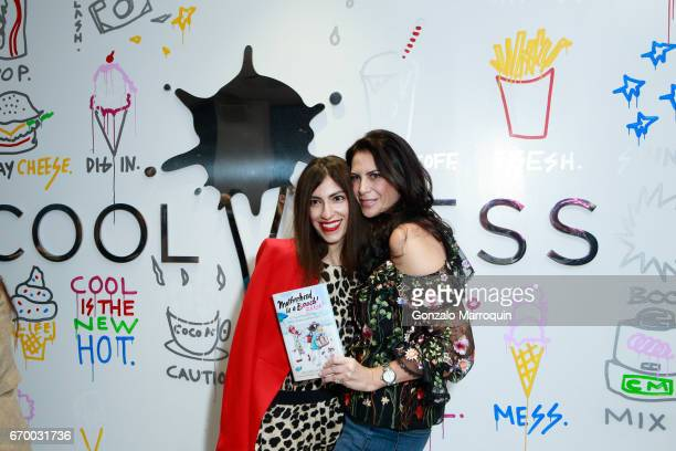 Heba Abedin and Lyss Stern at the Lyss Stern Hosts Motherhood is a B#tch Book Launch at Cool Mess on April 18 2017 in New York City