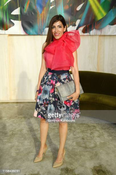 Heba Abedin attends A Magical Summer Night At Hudson Yards Celebrating The Lifestyle Of 35 Hudson Yards on June 25 2019 in New York City