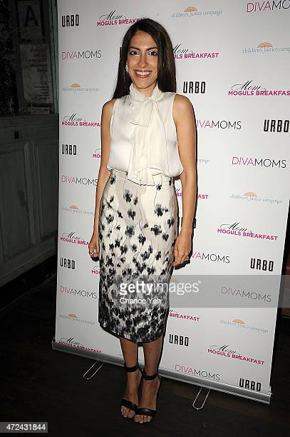 Heba Abedin attends Lyss Stern's DivaMomscom Third Annual Mom Moguls Breakfast at Urbo NYC on May 7 2015 in New York City