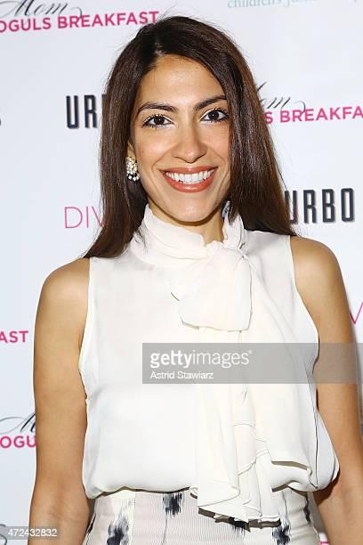 Heba Abedin attends Lyss SternÕs DIVAMOMSCOM third annual Moms Mogul Breakfast at Urbo NYC on May 7 2015 in New York City