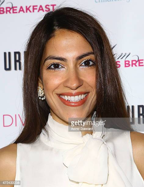 Heba Abedin attends Lyss Stern's DIVAMOMSCOM third annual Moms Mogul Breakfast at Urbo NYC on May 7 2015 in New York City