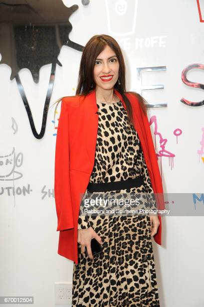 Heba Abedin attends Motherhood Is A B#tch Book Launch on April 18 2017 in New York City