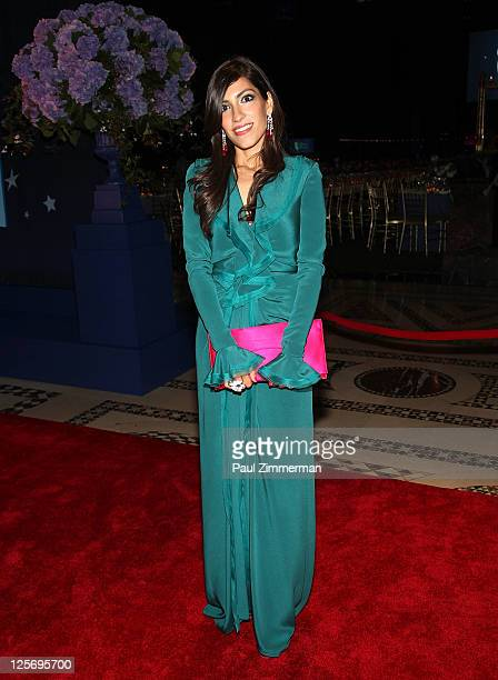 Heba Abedin attends the 2011 New Yorkers for Children Fall Gala at Cipriani 42nd Street on September 20 2011 in New York City