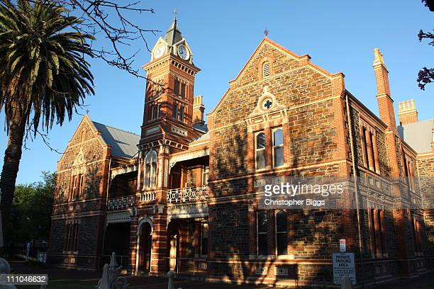 Hebart Hall, Lutheran College, 104 Jeffcott Street, North Adelaide. . The building is a heritage-listed building which was built in 1882.