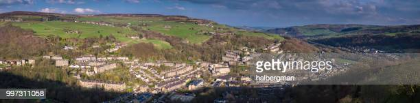 Hebden Bridge - Aerial Panorama