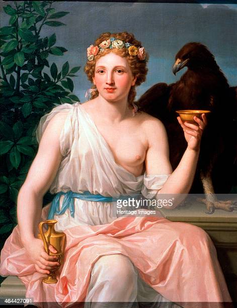 'Hebe' 1784 Hebe is the goddess of youth in Greek Mythology Her Roman equivalent is Juventas Found in the collection of the State Museum...
