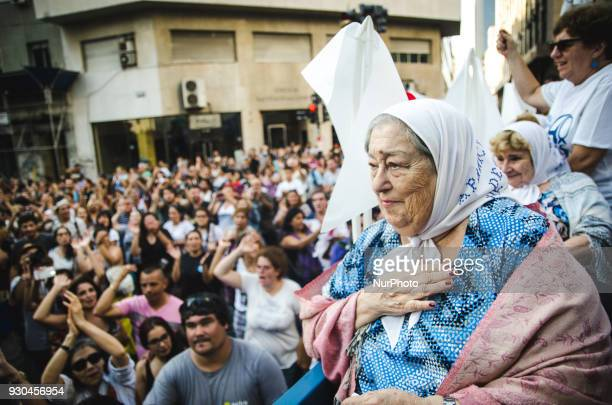 Hebe Pastor de Bonafini is an Argentine activist one of the founders of the Association of the Mothers of the Plaza de Mayo