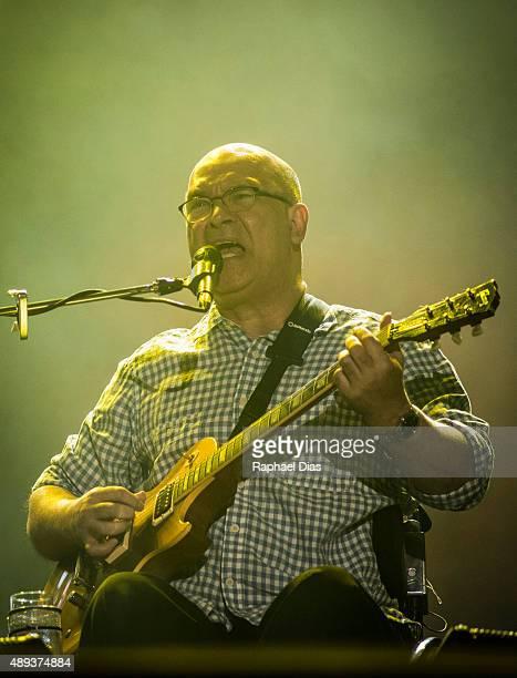 Hebert Vianna from Os Paralamas do Sucesso performs at 2015 Rock in Rio on September 20, 2015 in Rio de Janeiro, Brazil.