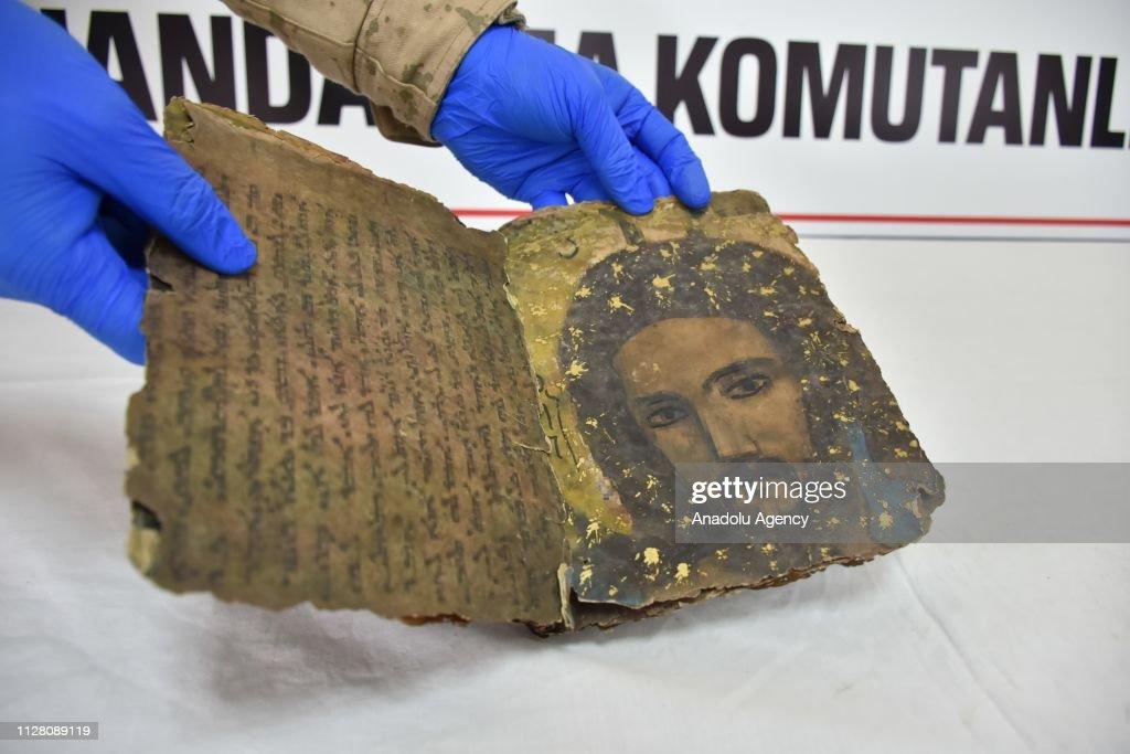 800-year-old Hebrew book seized in Turkey : News Photo