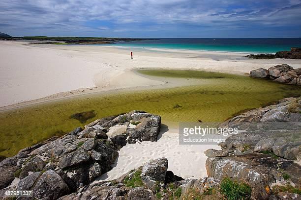 Hebridean Beach, Isle Of Barra, Outer Hebrides.