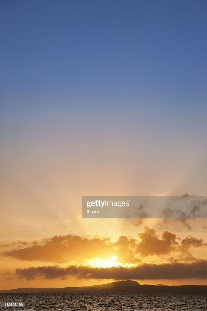 Hebridean Sunset : Stock Photo