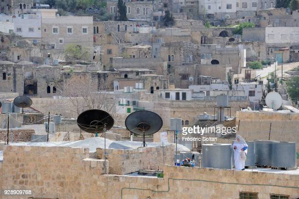 Hebron is a Palestinian city located in the southern West Bank south of Jerusalem nestled in the Judaean Mountains on April 14 2014 in Palestine