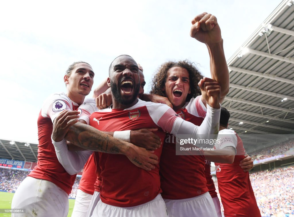 Cardiff City v Arsenal FC - Premier League : ニュース写真
