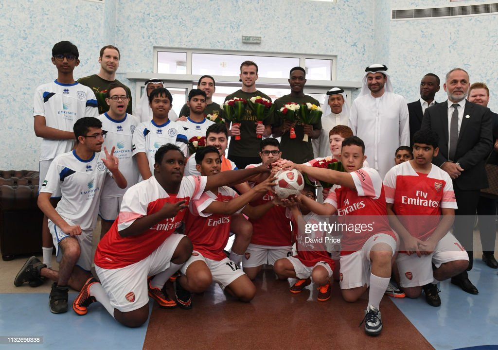 ARE: Arsenal Players Visit