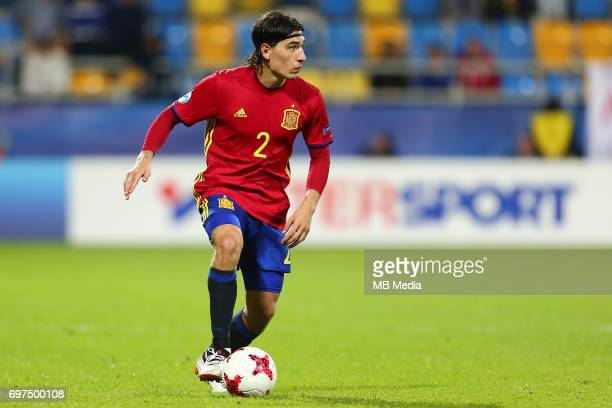 Hector Bellerin during the UEFA European Under21 match between Spain and FYR Macedonia on June 17 2017 in Gdynia Poland