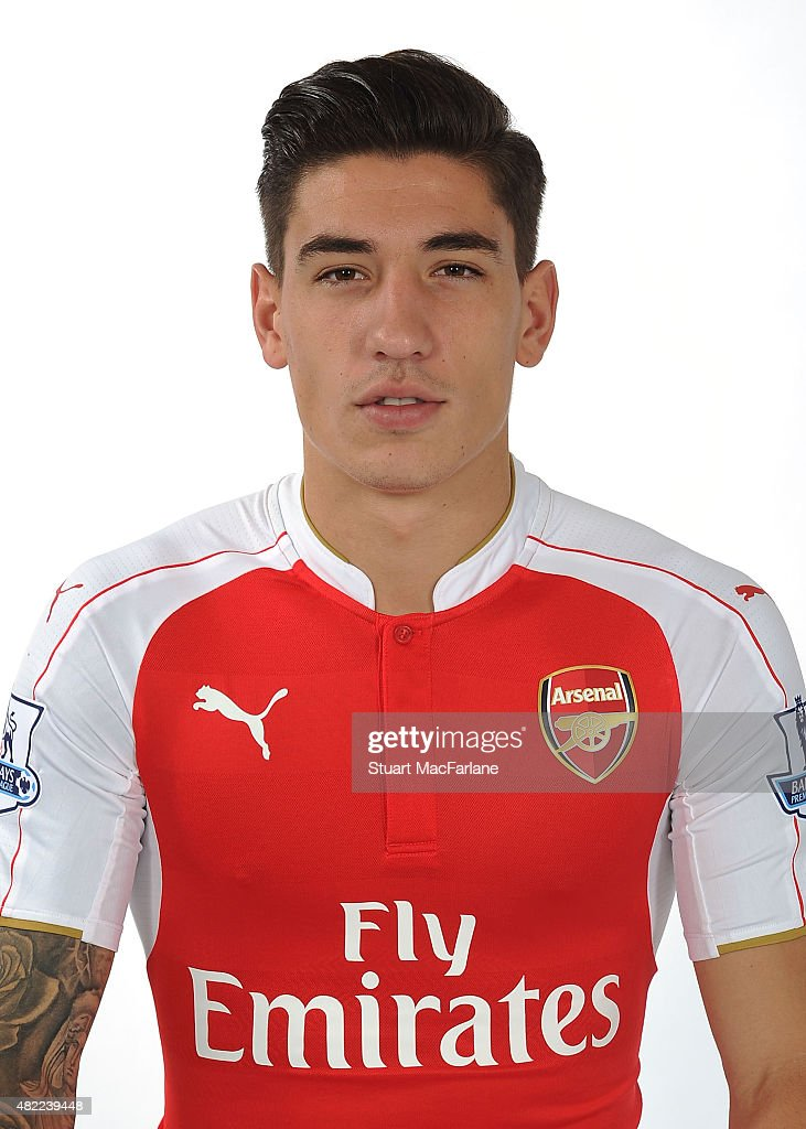 Hector Bellerin of Arsenal at Emirates Stadium on July 28, 2015 in London, England.