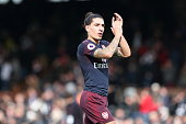 london england hector bellerin arsenal during