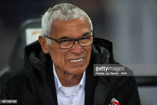 Hector Cuper head coach / manager of Egypt during the International Friendly match between Portugal and Egypt at Stadion Letzigrund on March 23, 2018...