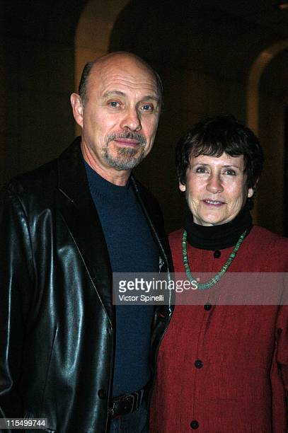Hector Elizondo and wife Carolee Campbell during World Premiere of 'Like Jazz' at Mark Taper Forum at The Music Center in Hollywood California United...