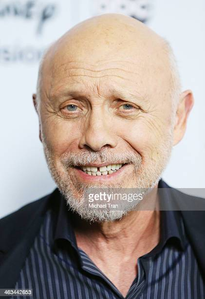 Hector Elizondo arrives at the ABC/Disney 2014 Winter TCA party held at The Langham Huntington Hotel and Spa on January 17 2014 in Pasadena California