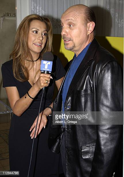 Hector Elizondo during The 17th Annual Imagen Awards Nominations at Madre's Restaurant in Pasadena California United States