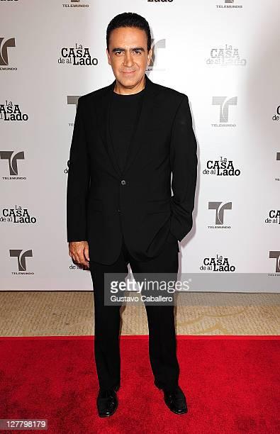 Hector Fuentes attends Telemundo La Casa de al Lado VIP Premiere at Mandarin Oriental on May 31, 2011 in Miami, Florida.
