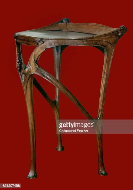 Hector Guimard Table in Pear Tree Wood 19041907 Paris Arts Decoratifs