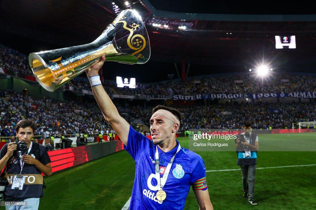 FC Porto v Desportivo das Aves - Portuguese Super Cup : News Photo