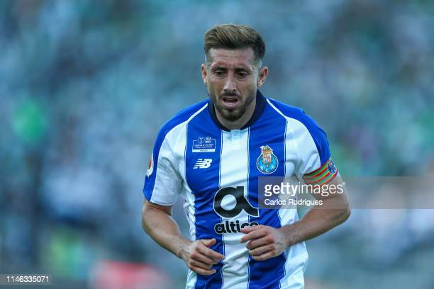 Hector Herrera of FC Porto during the match between Sporting CP and FC Porto Taca de Portugal Final at Estadio Nacional on May 25 2019 in Oeiras...