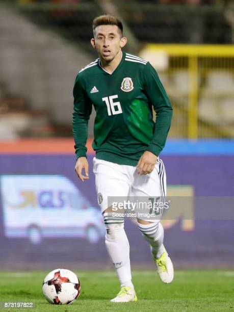 Hector Herrera Of Mexico During The International Friendly Match Between Belgium V Mexico At The Koning