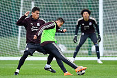 moscow russia hector moreno javier hernandez