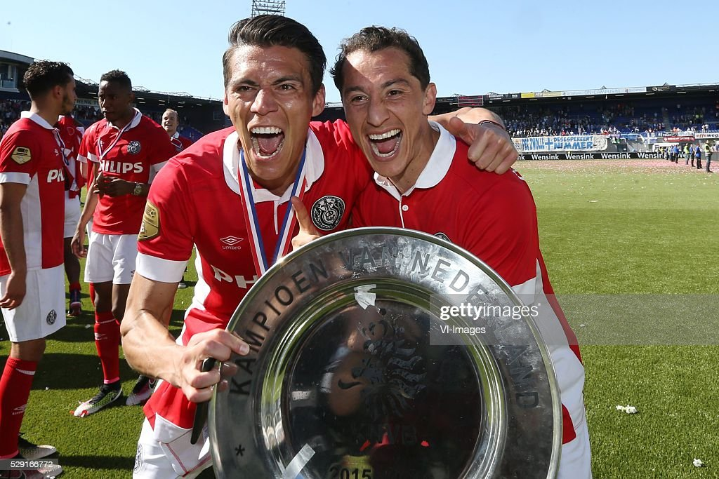 "Dutch Eredivisie - ""PEC Zwolle v PSV Eindhoven"" : News Photo"