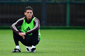 moscow russia hector moreno mexico looks
